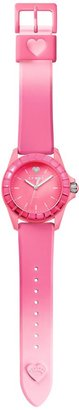 Juicy Couture Jelly Hot Pink Dip Dye Watch