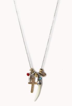 Forever 21 Boho Charm Necklace