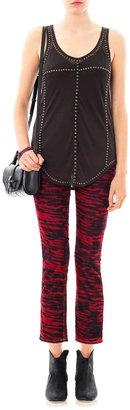 Etoile Isabel Marant Irwin corduroy mid-rise slim-leg jeans
