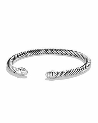 David Yurman Cable Classics Bracelet with Diamonds $850 thestylecure.com