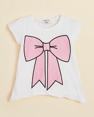 Wildfox Couture Girls' Hippie Bow Tee - Sizes 7-14