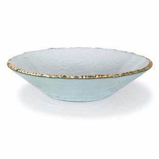 Annieglass Edgey Gold Round Bowl