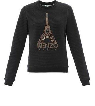 Kenzo Eiffel Tower stripe sweatshirt
