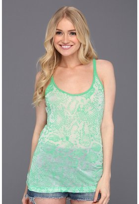 Fox Fun Time Cami (Acd Green) - Apparel