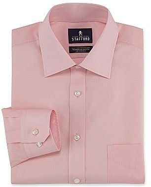 JCPenney Stafford® Easy-Care Broadcloth Dress Shirt