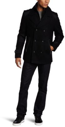 Ecko Unlimited Cut and Sew Men's Pier Peacoat