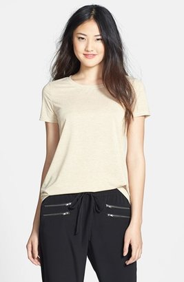 Halogen Short Sleeve Shimmer Tee