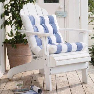 The White Company Barts Stripe Seat Cushion