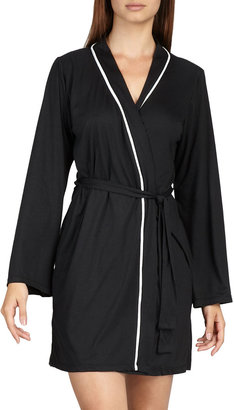 Cosabella Amore Jersey Robe, Black