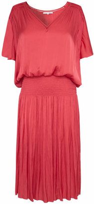 Gerard Darel Midi Dress With Smocking