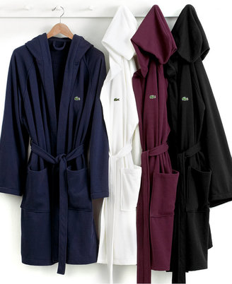 CLOSEOUT! Lacoste Casual Pique Bathrobe