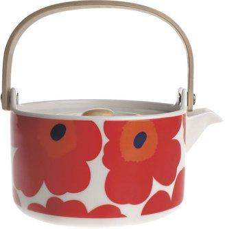 Marimekko Unikko Red Teapot