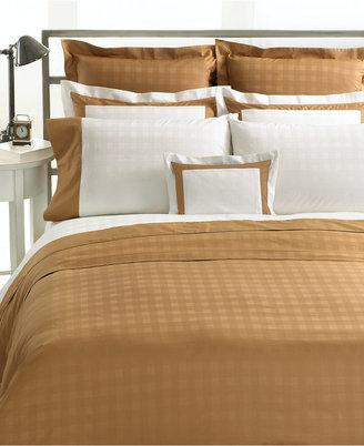 Lauren Ralph Lauren CLOSEOUT! Bedding, White Glen Plaid Queen Fitted Sheet