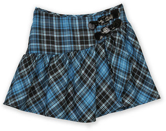 Amy Byer BCX Girls Skirt, Girls Asymmetrical Plaid Pleated Skirt