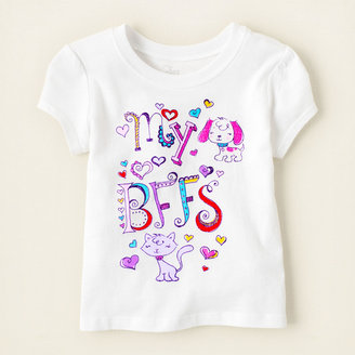 Children's Place B.f.f.'s graphic tee