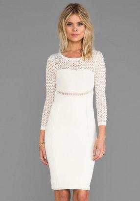 Catherine Malandrino Brooklyn Pointelle Dress