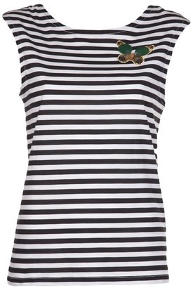 Sonia Rykiel Sonia By butterfly and striped tee