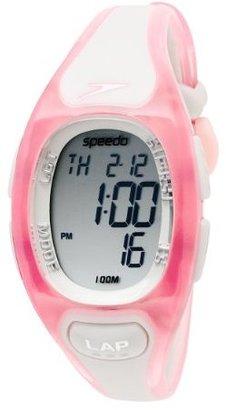 Speedo Women's SD50627BX 150-Lap Polyurethane Strap Watch