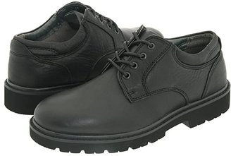 Dockers Shelter Plain Toe (Black Full Grain Leather) Men's Lace up casual Shoes