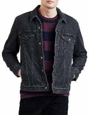 Levi's Sherpa Lined Denim Trucker Jacket