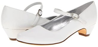 Nina Seeley (Little Kid/Big Kid) (White Smooth) Girls Shoes