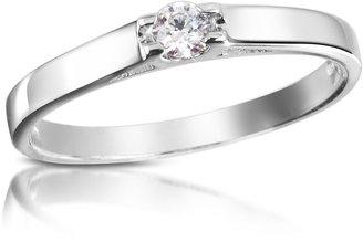 Forzieri 0.10 ctw Diamond Solitaire Ring