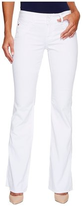 Hudson Supermodel Signature Boot 36 Inseam in White Women's Jeans