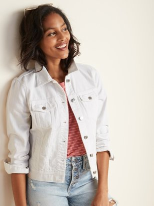 Old Navy White Jean Jacket for Women