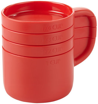 Umbra Cuppa Measuring Cups Red Set of 4