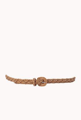 Forever 21 Classic Braided Belt