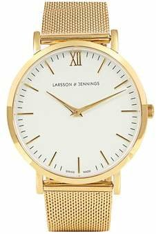 Larsson & Jennings Lugano Gold Plated Watch - Mens - Gold