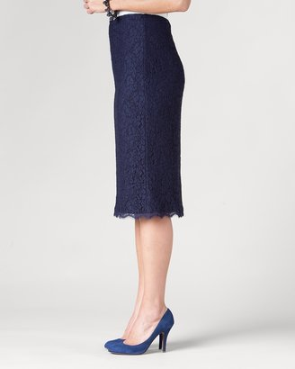 Coldwater Creek State of lace pencil skirt