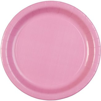"Celebrations! Candy Pink 9"" Paper Dinner Plates - 8 ct"