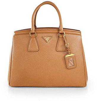 Prada Saffiano Small EW Top-Handle Bag