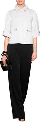 Salvatore Ferragamo Patent Leather Jo Shoulder Bag
