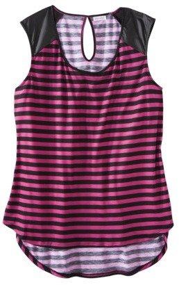 Xhilaration Junior's Plus-Size Knit Tank - Assorted Colors