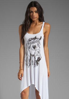 Lauren Moshi Daria Royal Horse Tank Dress