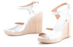 Maison Martin Margiela Strappy Metallic Sandals
