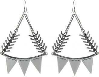 Eddie Borgo SMILE EARRINGS