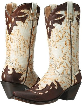 Stetson 12-021-6105-0706 (Turquoise/Oiled Brown) - Footwear