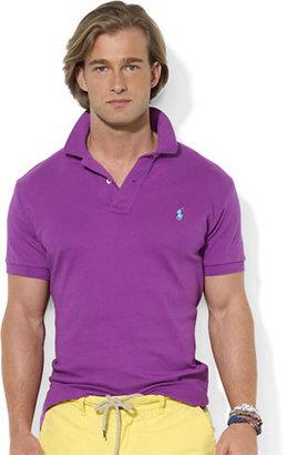 Polo Ralph Lauren Custom-Fit Short-Sleeved Interlock Polo