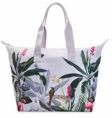 Ted Baker Sofiae Pistachio Foldaway Shopper Bag