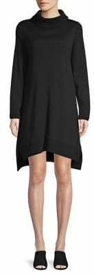 Eileen Fisher Turtleneck Wool Shift Dress