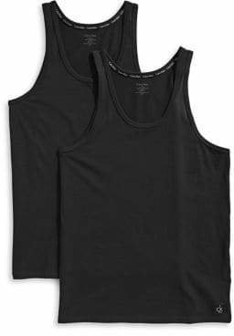 Calvin Klein Two-Pack Scoop Neck Tank Tops