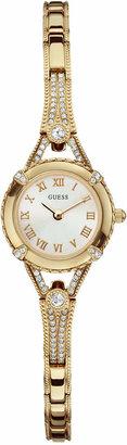 GUESS Watch, Women Gold Tone Bracelet 22mm U0135L2