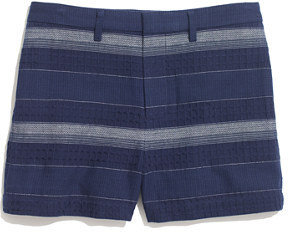 Madewell Thompson Shorts in Woven Stripe