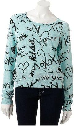 Jerry Leigh love sweater - juniors