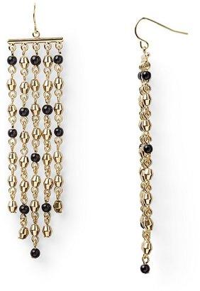 Lauren Ralph Lauren Romantic Traveler 5-Row Chandelier Earrings