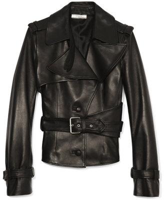 Bouchra Jarrar Leather Jacket