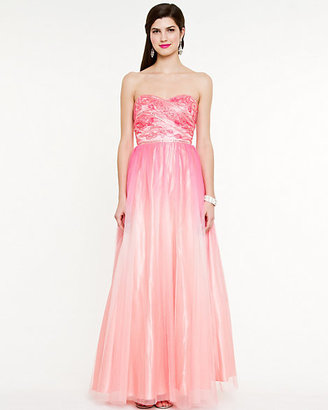 Le Château Ombre Iridescent Sweetheart Gown